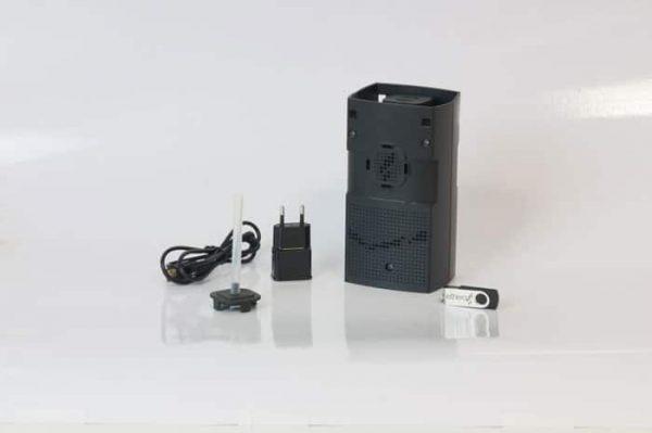 Analyseur de la qualité de l'air intérieur doté d'un enregistreur